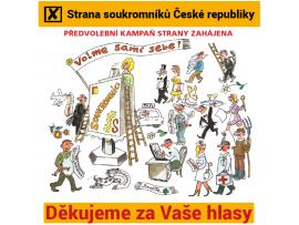 Měsíčník Soukromník: Jak vypadá situace tři týdny před volbami