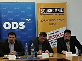 V Ostravě spojí síly ODS se Soukromníky a TOP 09