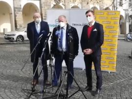 Trikolóra, Svobodní a Soukromníci jdou do voleb společně. Chtějí být alternativou, hájit svobodu, českou korunu i kapitalismus